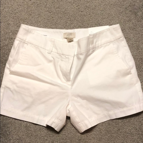 LOFT Pants - LOFT white shorts